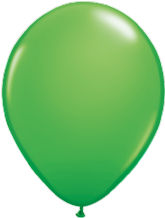 "Qualatex 11 inch Balloons - Spring Green 11"" Balloons (Fashion 25pcs)"